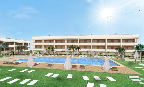 New build - apartment - Gran Alacant  - Rentablanca