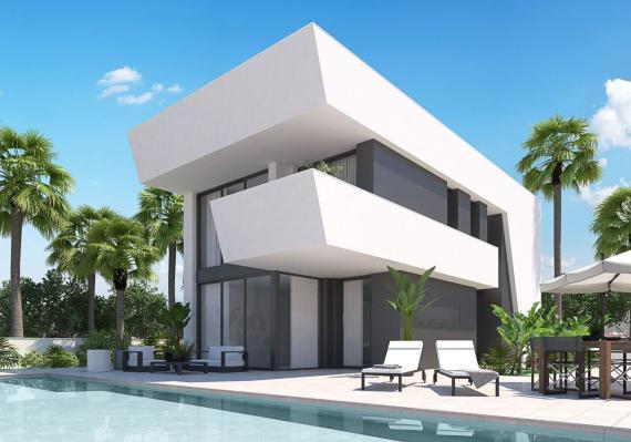 Nieuwbouw - vrijstaande villa - strand El Pinet - Rentablanca