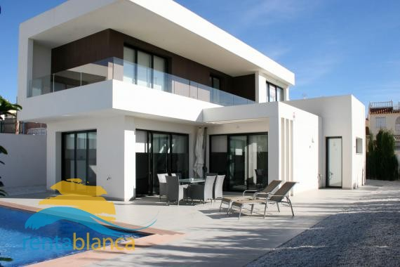 Modern new build villa La Marina  - Rentablanca