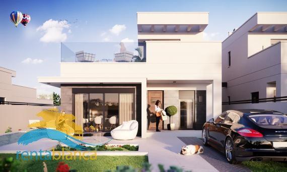 New build - modern semi detached villa - Oasis La Marina - Rentablanca