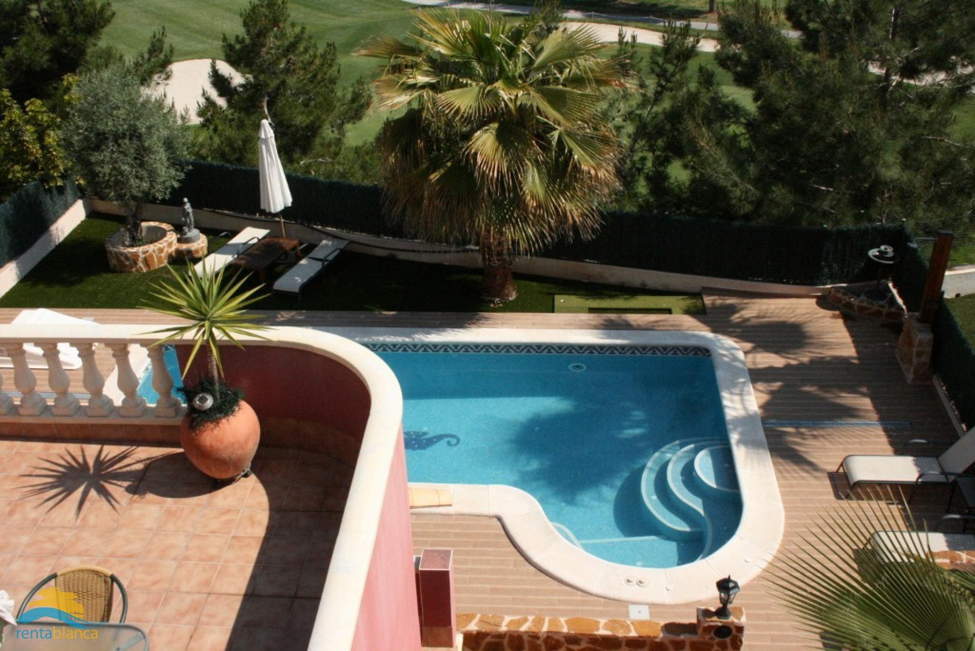 Villa Rojales with priv. pool and jacuzzi - Rentablanca