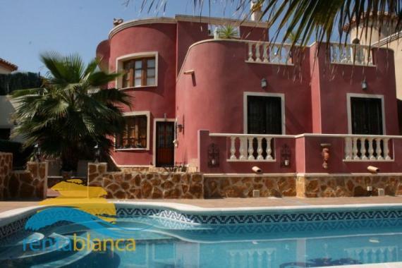 Villa Rojales met privé zwembad en jacuzzi - Rentablanca