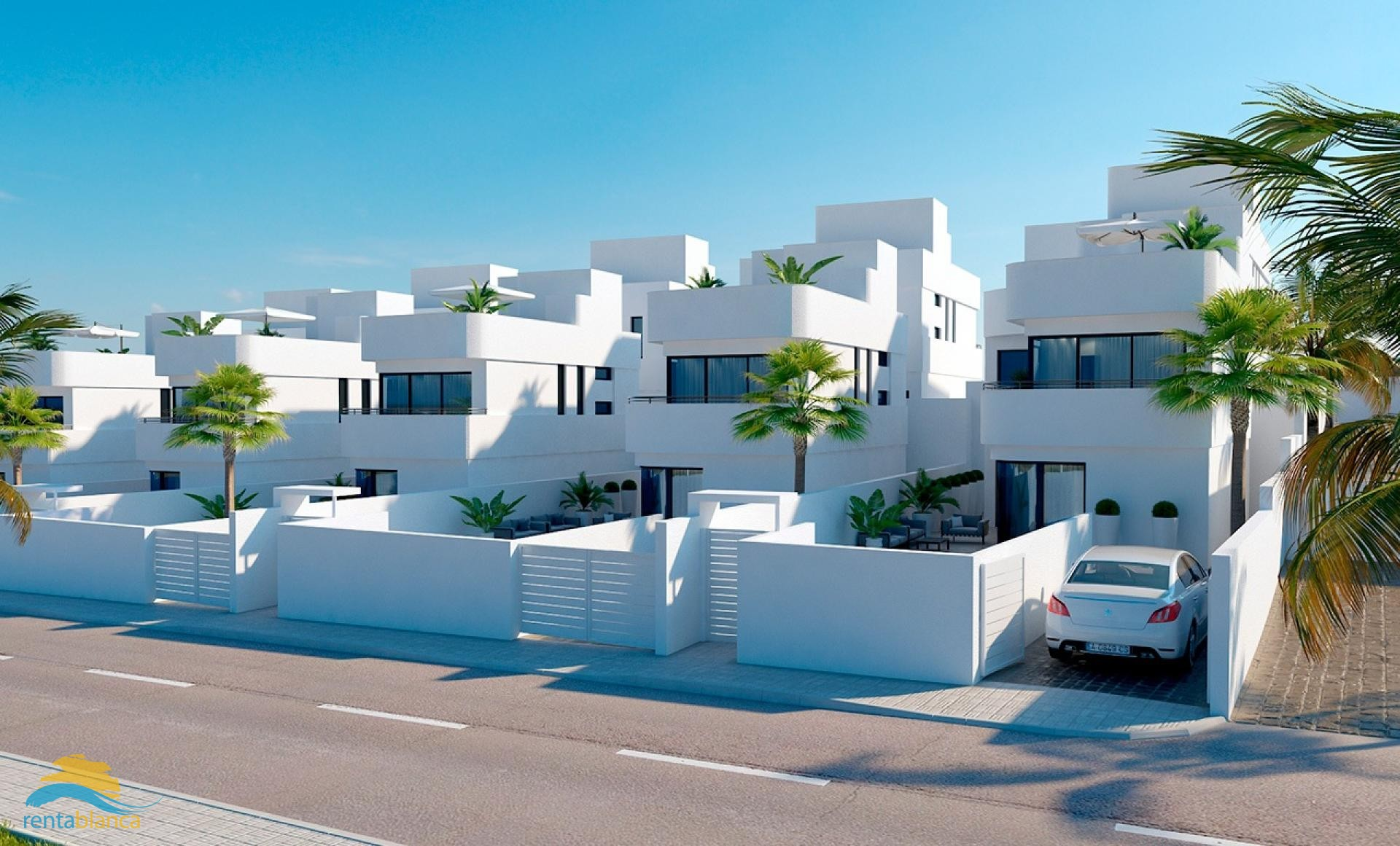 New build - modern detached villa - La Marina Urb. - Rentablanca