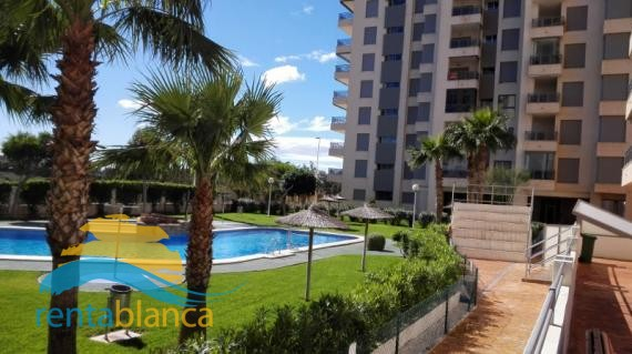 Apartment with sea view Puerto Marino - Rentablanca