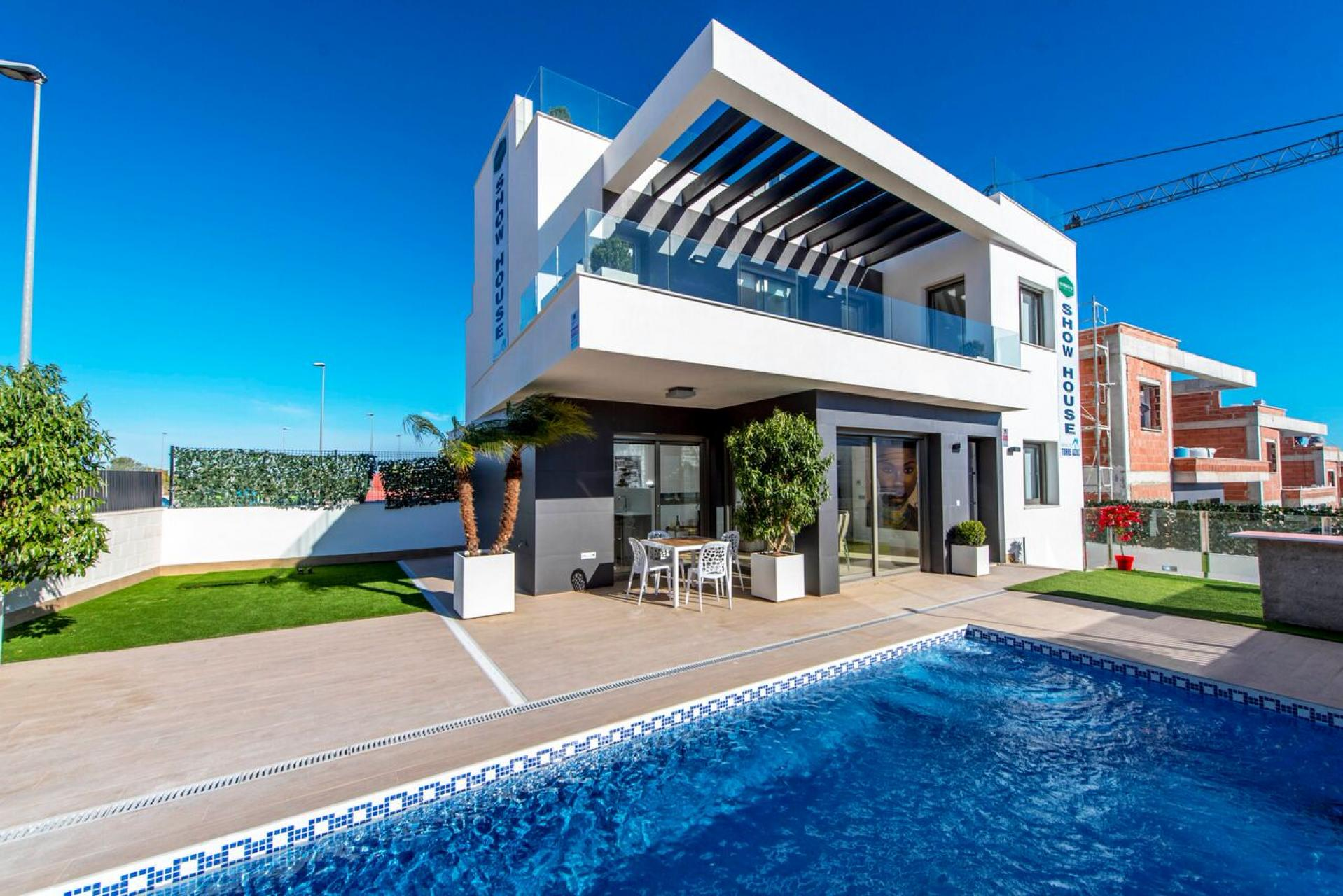 New build - modern detached villa - Villamartin - Rentablanca